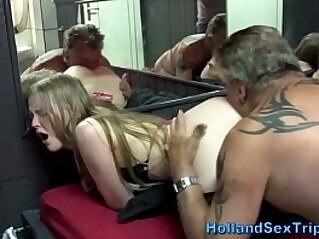 Teen Whore gets spotted and Fucked By Her Step Daddy