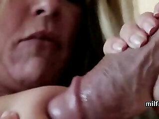 Horny brunette MILF Slut